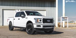 Ford F-150 with Fuel 1-Piece Wheels Blitz - D675