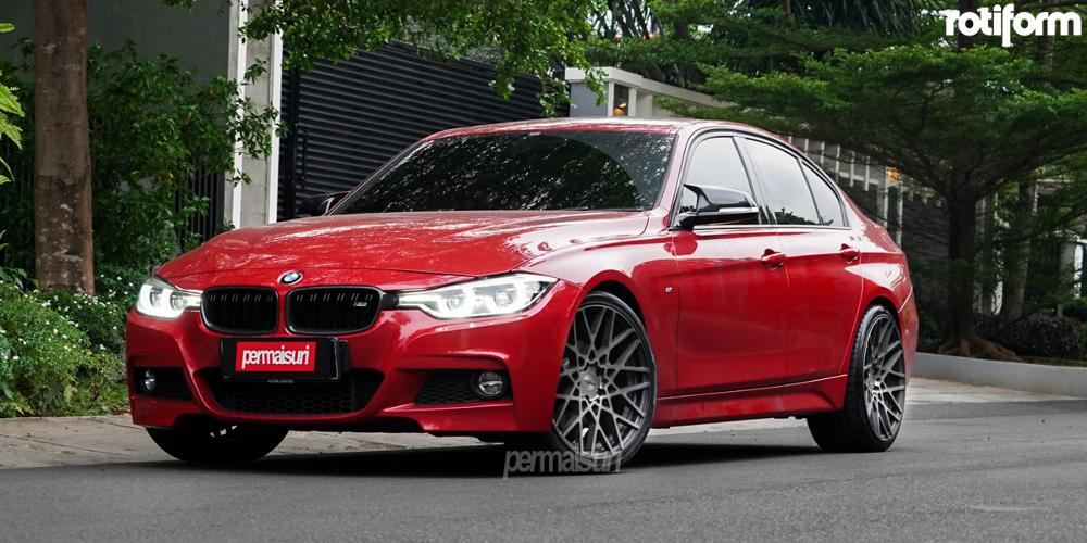BMW 330i with Rotiform BLQ