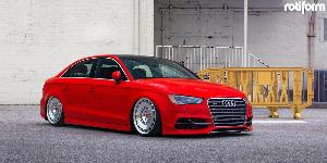 Audi S3 with Rotiform CCV