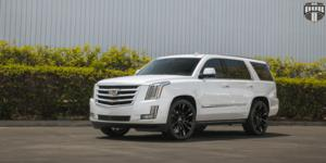 Cadillac Escalade with DUB 1-Piece Clout - S252