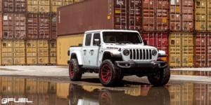 Jeep Gladiator with Fuel 1-Piece Wheels Contra - D644