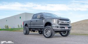 Ford F-250 Super Duty with Fuel 1-Piece Wheels Contra - D714