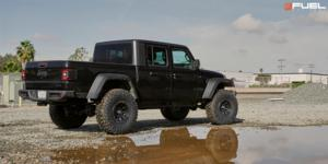Jeep Gladiator with Fuel 1-Piece Wheels Covert - D694