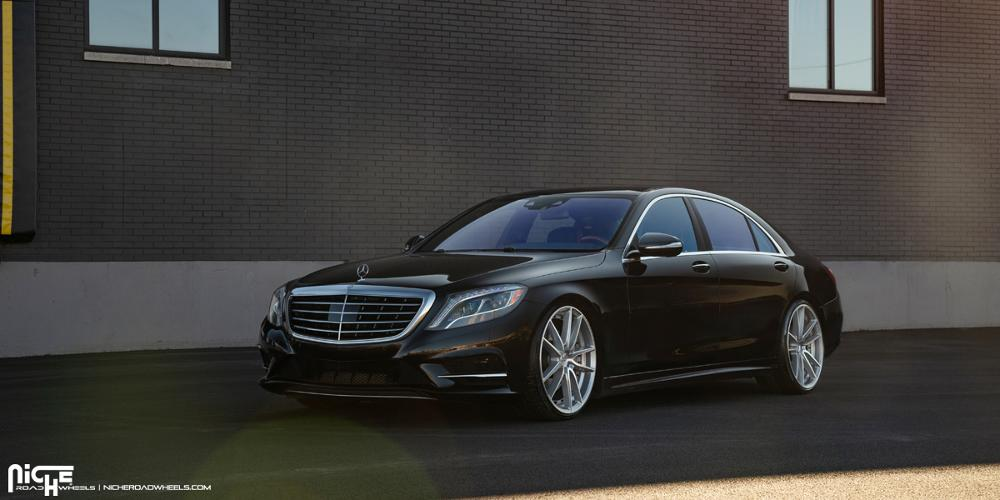 Mercedes-Benz S550 with Niche Sport Series DFS - M221