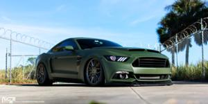 Ford Mustang with Niche Sport Series Gamma - M191
