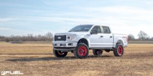 Ford F-150 with Fuel 1-Piece Wheels Heater - D719