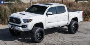 Toyota Tacoma with Fuel 1-Piece Wheels Hostage - D531