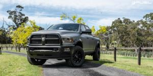 Dodge Ram 2500 with Fuel 1-Piece Wheels Hostage III - D568