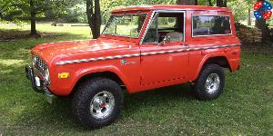 Ford Bronco with US Mags Indy - U101 Truck