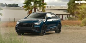 Audi Q8 with Rotiform JDR