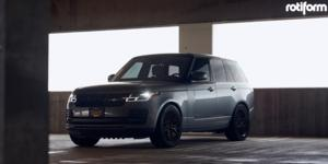 Land Rover Range Rover with Rotiform JDR