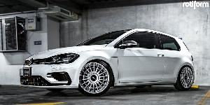 Volkswagen Golf R with Rotiform LAS-R