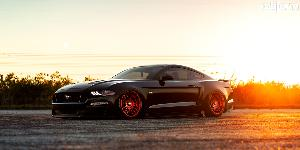 Ford Mustang with Rotiform LAS-R