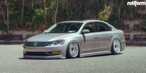 Volkswagen Passat with Rotiform LAS-R
