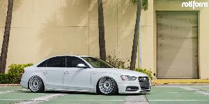 Audi S4 with Rotiform LAS-R