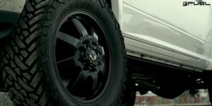 Dodge Ram 3500 with Fuel Dually Wheels Maverick Dually Front - D538
