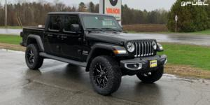 Jeep Gladiator with Fuel 1-Piece Wheels Maverick - D537