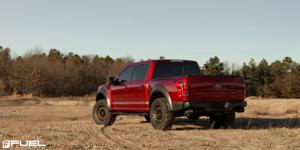 Ford F-150 with Fuel 1-Piece Wheels Militia - D725