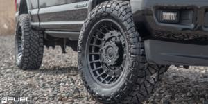 Ford F-250 with Fuel 1-Piece Wheels Militia - D723