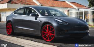 Tesla Model 3 with Niche Sport Series Misano - M186