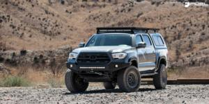 Toyota Tacoma with Fuel 1-Piece Wheels Nitro - D668