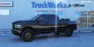 Dodge Ram 2500 with Fuel 1-Piece Wheels Podium - D617