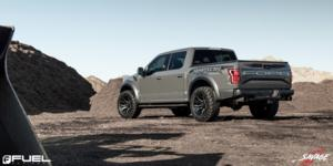 Ford F-150 with Fuel 1-Piece Wheels Rage - D711