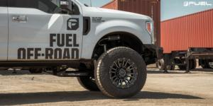 Ford F-250 Super Duty with Fuel 1-Piece Wheels Rebel - D680