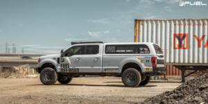 Ford F-250 Super Duty with Fuel 1-Piece Wheels Rebel 6 - D680