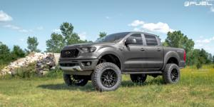 Ford Ranger with Fuel 1-Piece Wheels Rebel - D679