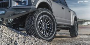 Ford F-150 with Fuel 1-Piece Wheels Rebel - D680