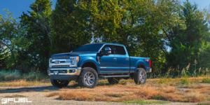 Ford F-250 Super Duty with Fuel 1-Piece Wheels Rogue - D710