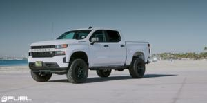 Chevrolet Silverado 1500 with Fuel 1-Piece Wheels Rogue - D709