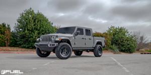 Jeep Gladiator with Fuel 1-Piece Wheels Shok - D664