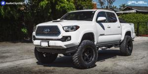 Toyota Tacoma with Fuel 1-Piece Wheels Shok - D664