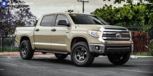 Toyota Tundra with Fuel 1-Piece Wheels Shok - D665
