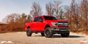 Ford F-150 with Fuel 1-Piece Wheels Siege - D706