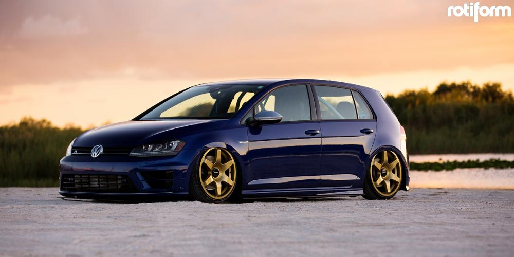 Volkswagen Golf R with Rotiform SIX