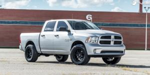 Dodge Ram 1500 with Fuel 1-Piece Wheels Tech - D670