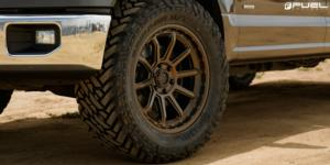 Ford F-150 with Fuel 1-Piece Wheels Torque - D690