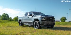Chevrolet Silverado with Fuel 1-Piece Wheels Torque - D689
