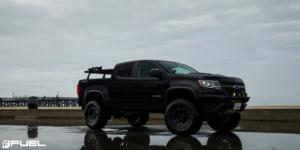 Chevrolet Colorado with Fuel 1-Piece Wheels Tracker - D729