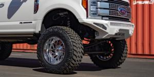 Ford F-250 Super Duty with Fuel 1-Piece Wheels Triton - D609