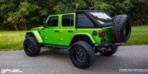 Jeep Wrangler with Fuel 1-Piece Wheels Triton - D581