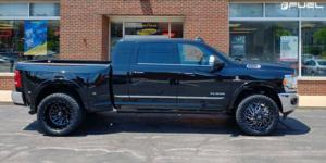 Dodge Ram 3500 with Fuel Dually Wheels Triton Dually Front