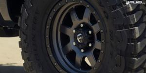 Chevrolet Silverado 1500 with Fuel 1-Piece Wheels Trophy - D552