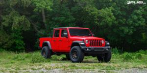 Jeep Gladiator with Fuel 1-Piece Wheels Vector - D600