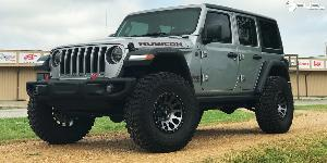 Jeep JL with Fuel 1-Piece Wheels Vector - D601