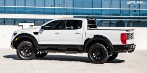 Ford Ranger with Fuel 1-Piece Wheels Vector - D579