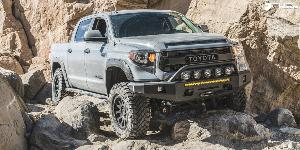 Toyota Tundra with Fuel 1-Piece Wheels Vector - D579